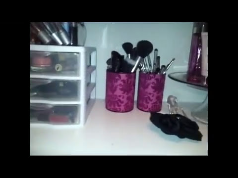 DIY: Brush Holder / Organizador de Brochas