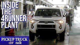 Tahara Assembly Plant Japan Tour - Toyota 4Runner, Land Cruiser