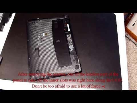 Lenovo Y410p SSD Installation (Samsung 840 EVO)