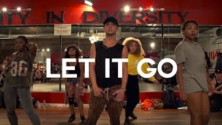 Let It Go - Brian Friedman - @BrianFriedman @DanceMillennium - Filmed by @TimMilgram