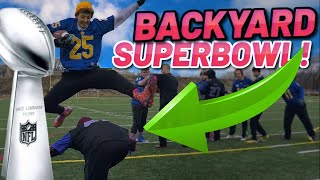We played our Tackle Football Super Bowl and omg...