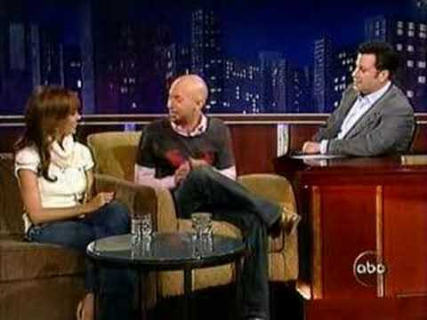 "Neil Strauss ""Picks Up"" on Jessica Alba- Jimmy Kimmel show"