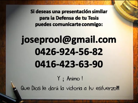 Ejemplo de Power Point para Tesis