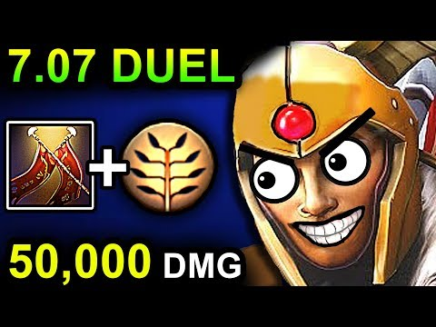 EPIC LEGION COMMANDER - DOTA 2 PATCH 7.07 NEW META PRO GAMEPLAY