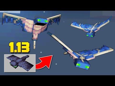 NEW Phantom Mob, TREASURE MAPS, Tropical Fish Minecraft 1.13 Snapshot Update