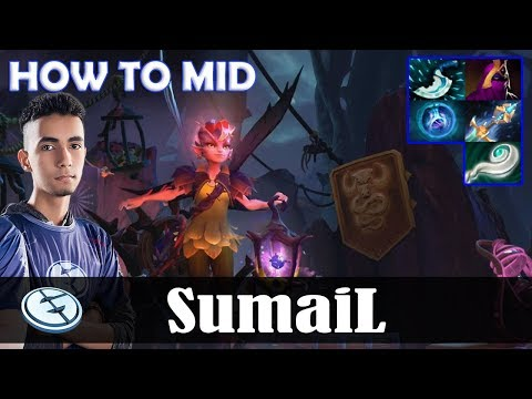 SumaiL - Dark Willow HOW TO MID | 7.07 Update Patch Dota 2 Pro MMR  Gameplay