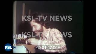 Video of Ted Bundy enjoying his Birthday cake