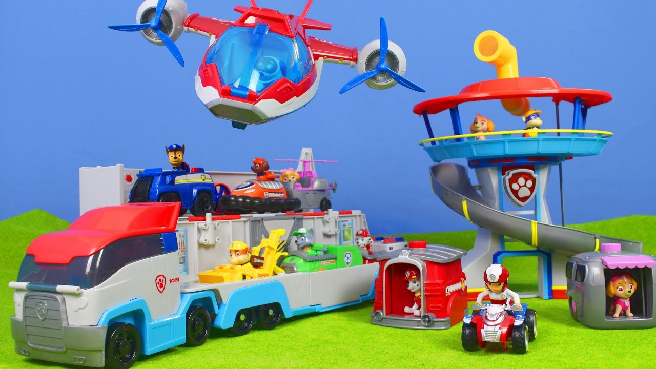 Paw Patrol Deutsch Lookout Spielzeug Paw Air Patroller All