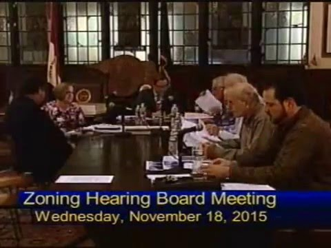 County of Berks Commissioners' Meeting. January 7th, 2016