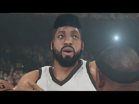 NBA 2k14 MyCAREER PS4 Gameplay - Triple Double Rookie Showcase Bridges Posterizing Ellis