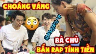 Người Hàn choáng váng khi nghe bà chủ bắn Rap tính tiền !!    Lần đầu đến quán ăn vặt Việt Nam