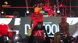 BROTHER SHAGGY'S PERFORMANCE AT DAVIDO LIVE IN CONCERT 2018