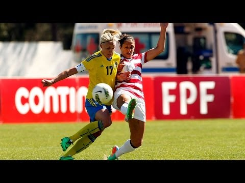WNT vs. Sweden: Highlights - March 7, 2014