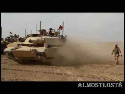 Abrams Tank RAW Footage - The US Main Battle Tank