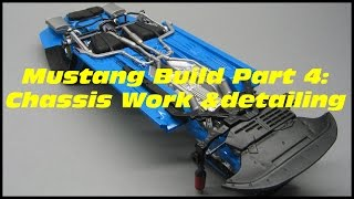 Revell:2013 Ford Mustang Boss 302 Part 4/7