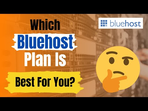 3 Types Of Pricing Plans On Bluehost: Which One Is For You?