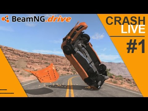 BeamNG.Drive : Crash Live ! [#1.FR]