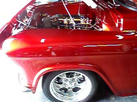1956 Chevy engine start, Rods R Us Music Videos