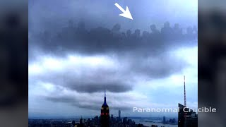 Alien Or Heavenly Realm Appears Over New York?