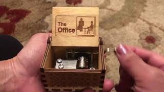 The office tv show music box!!  Dwight schrute michael Scott