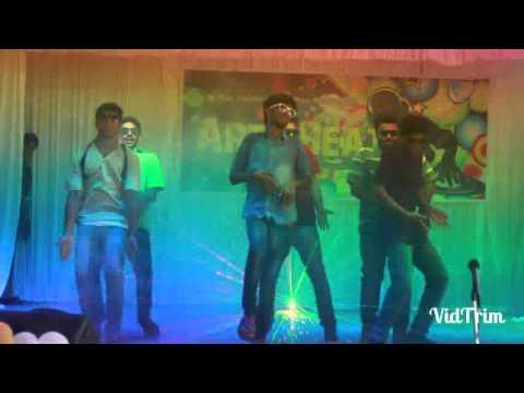 FUNNY DANCE BY MAR AUGUSTHINOS COLLEGE RAMAPURAM
