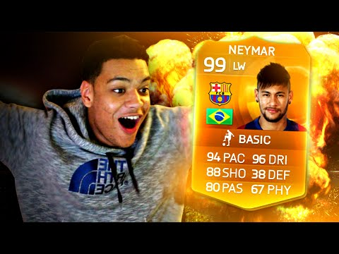 WTF 99 MOTM NEYMAR ON DRUGS!!!! FIFA 15