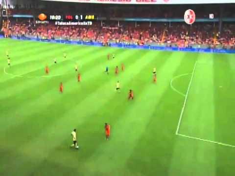 Gol  del América | Oribe Peralta