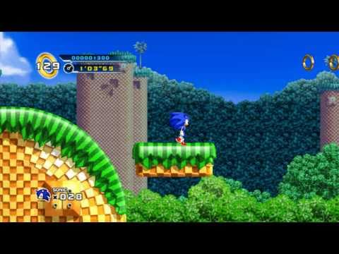 Sonic The Hedgehog 4 Episode 1 on Dolphin Emulator (720p)
