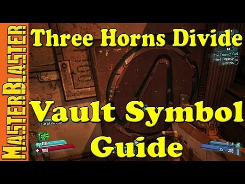 Borderlands 2 Three Horns Divide Cult Of The Vault Challenge Location