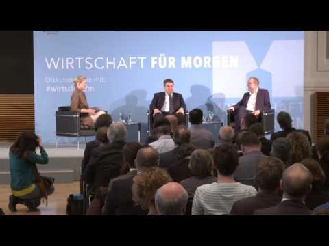 Wirtschaft für Morgen: Sigmar Gabriel im Gespräch mit Armin Falk