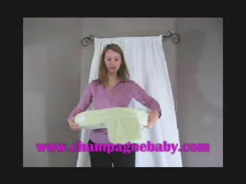 Breastfeeding Pillow Demonstration  My Brest Friend  By Champagne Baby