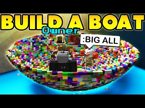 Owner using Admin Commands in BUILD A BOAT!