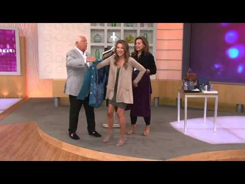 Title: QVC host Shawn and Guest Dennis Basso and QVC Germany Hadiya