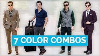 7 Best Clothing Color Combinations for Men | Color Matching Guide