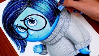 INSIDE OUT  Drawing SADNESS
