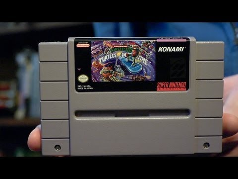 Turtles in Time (SNES Video Game) James & Mike