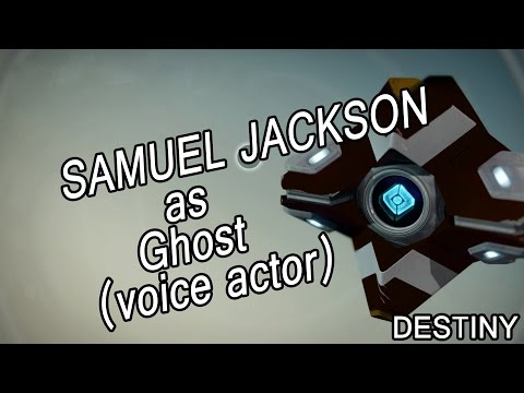 Samuel Jackson as Ghost (voice actor) - Destiny [funny]