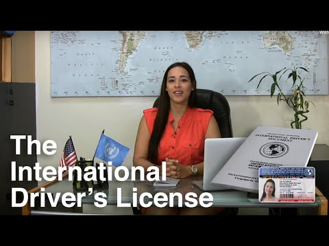 The International Driver's License - Details and Benefits