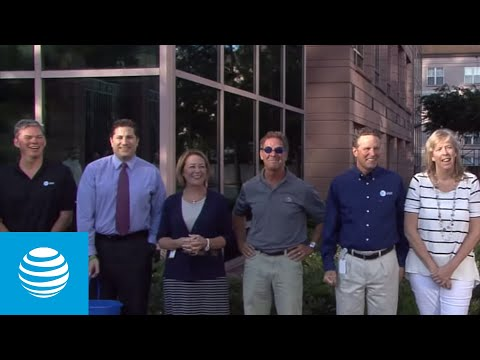 AT&T Leadership takes on the #IceBucketChallenge for ALS Awareness