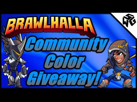 Community Color Giveaway! - Brawlhalla Gameplay :: Experimental With CC's