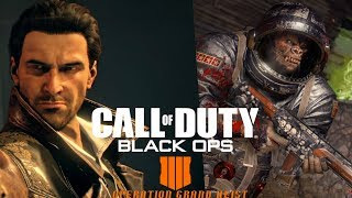 Call of Duty Black Ops 4 Operation Grand Heist Tir Grind Zombies/Blackout