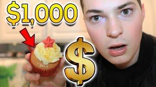 $5 CUPCAKE VS $1,000 CUPCAKE