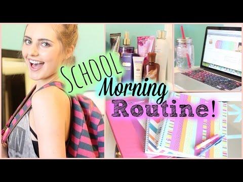 Back to School Morning Routine! | Aspyn Ovard