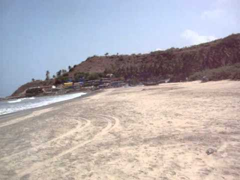 Beaches in Goa, Harmal Beach North Goa - Indian Top Beaches Travel & Tours Video
