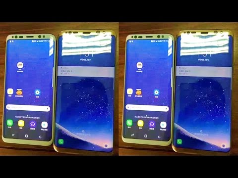 SAMSUNG GALAXY S8 - ADVANCE FACIAL RECOGINITION!!!