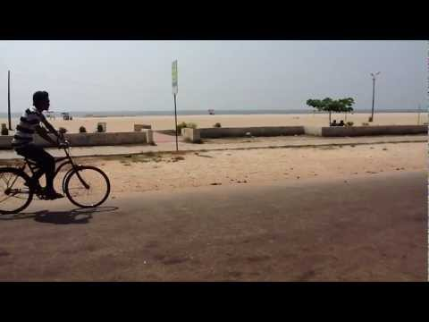 Alappuzha Beach on National Strike