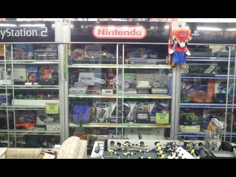 Massive Video Game Collection Room Tour - Part 1 of 4