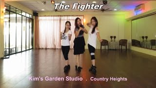 The Fighter Line Dance - N Poulsen, R Sarlemijn & R Verdonk, May 2016
