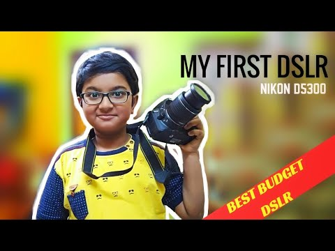 My First DSLR || UNBOXING || REVIEW || NIKON D5300 ||Video Samples || HINDI || A.C
