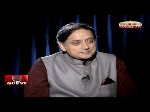 Shashi Tharoor In 'the Quest' video